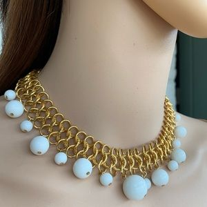 KENNETH JAY LANE Couture Collection Gold Necklace